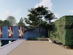Nowoczesny ogród w Warszawie - zdjęcie od Projektowanie ogrodów w nowoczesnym stylu na terenie całej PL