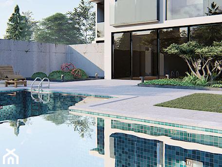 Aranżacje wnętrz - Ogród: Minimalistyczny ogród w Wawie - Projektowanie ogrodów w nowoczesnym stylu na terenie całej PL. Przeglądaj, dodawaj i zapisuj najlepsze zdjęcia, pomysły i inspiracje designerskie. W bazie mamy już prawie milion fotografii!