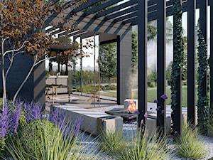 nowoczesne ogrody - zdjęcie od Projektowanie ogrodów w nowoczesnym stylu na terenie całej PL