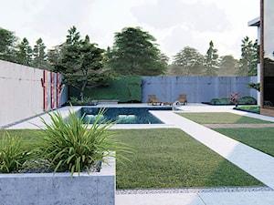 Projekt ogrodu w nowoczesnym stylu - zdjęcie od Projektowanie ogrodów w nowoczesnym stylu na terenie całej PL