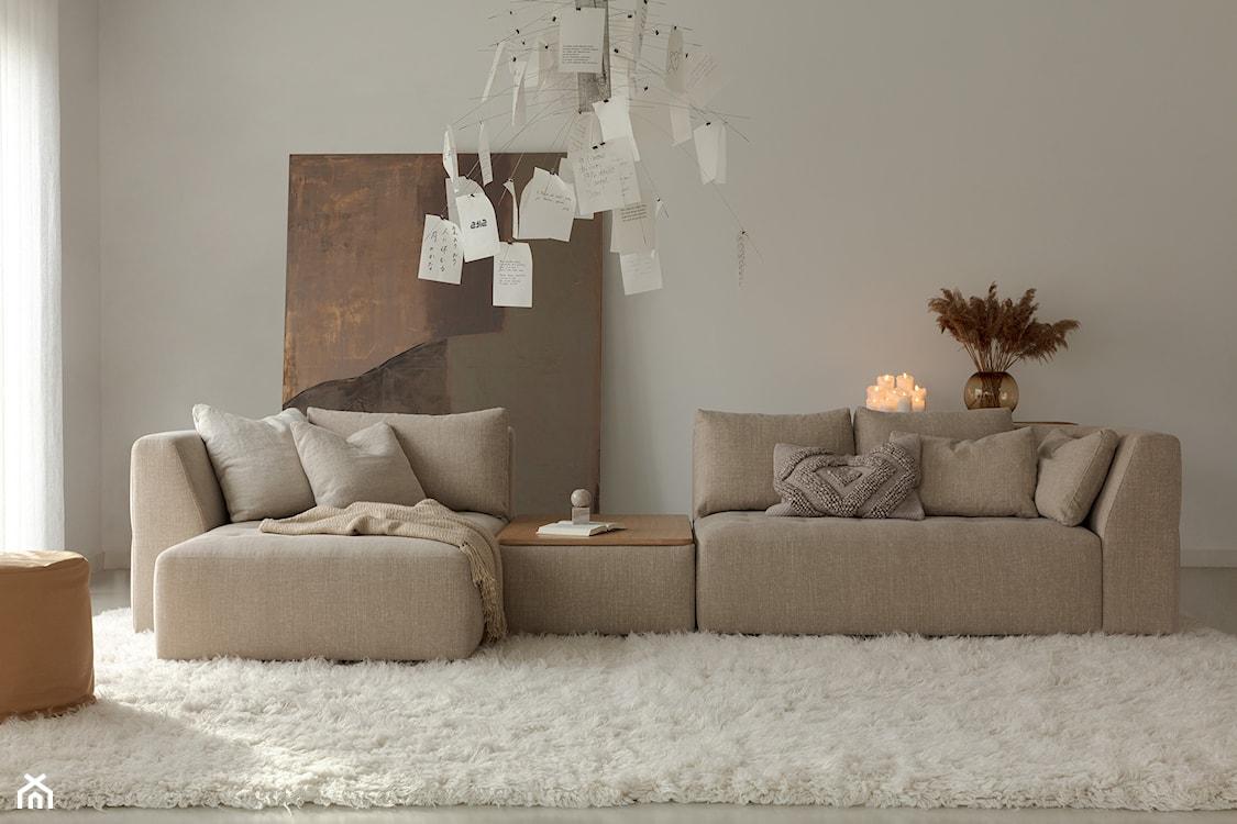 sofa modułowa w stylu skandynawskim