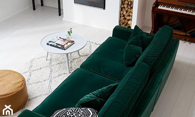 butelkowozielona sofa