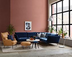 HUGO - Mały pomarańczowy salon, styl eklektyczny - zdjęcie od SITS