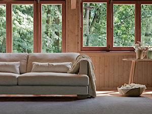 Trendy wnętrzarskie: sofa do salonu w stylu skandynawskim
