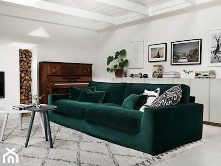 Aranżacje wnętrz - Salon: NEW YORK Lario Dark Green - SITS. Przeglądaj, dodawaj i zapisuj najlepsze zdjęcia, pomysły i inspiracje designerskie. W bazie mamy już prawie milion fotografii!