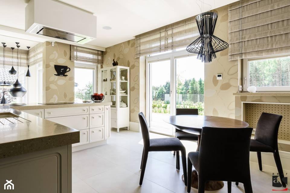 DOM W KOLECZKOWIE - Kuchnia, styl eklektyczny - zdjęcie od ASAR projekt - Homebook