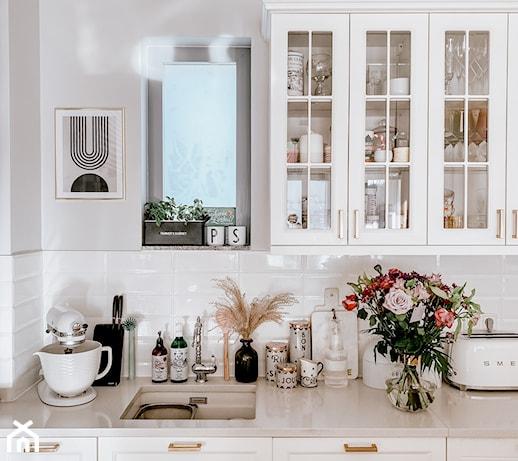 Płytki ścienne do kuchni – wzory, które sprawdzą się w małym wnętrzu