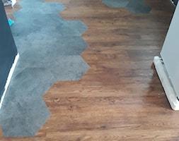 Podłoga LVT 3d i heksagony - Kuchnia, styl nowoczesny - zdjęcie od Prestige Floor - Homebook