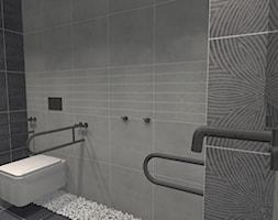 łazienka dla niepełnosprawnych biura - zdjęcie od EWEM aranżacja wnętrz Edyta Wełnicka