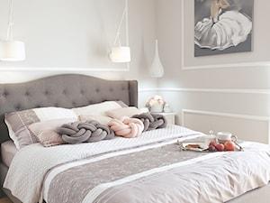 Sypialnia w stylu Glamour - zdjęcie od m2metamorfozy.pl