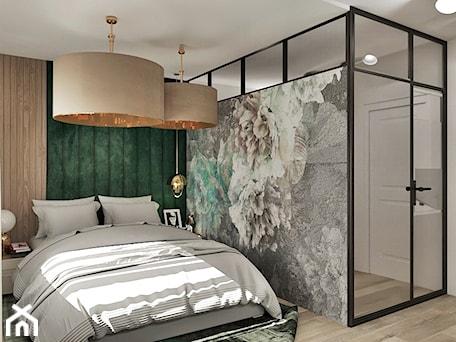 Aranżacje wnętrz - Garderoba: Projekt sypialni - Garderoba, styl industrialny - Żeromska Projektowanie wnętrz. Przeglądaj, dodawaj i zapisuj najlepsze zdjęcia, pomysły i inspiracje designerskie. W bazie mamy już prawie milion fotografii!