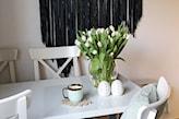 wiosenna, pastelowa odsłona salonu