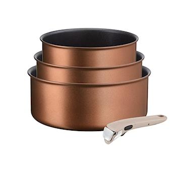 Zestaw Rondli Ingenio Resource 16/18/20 cm + rączka TEFAL