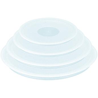 Zestaw 3 plastikowych pokrywek TEFAL INGENIO 16,18, 20 cm