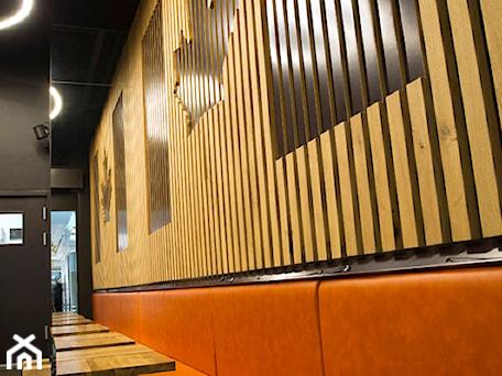 Aranżacje wnętrz - Wnętrza publiczne: ażurowe panele ścienne, panele frezowane, lamele ścienne - WOODYOU Sebastian Grabarczyk. Przeglądaj, dodawaj i zapisuj najlepsze zdjęcia, pomysły i inspiracje designerskie. W bazie mamy już prawie milion fotografii!