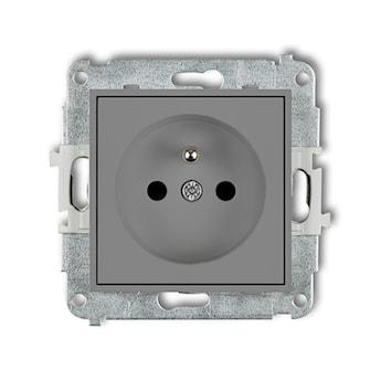 KARLIK Mechanizm gniazda pojedynczego z uziemieniem 2P+Z (przesłony torów prądowych)