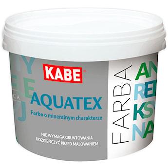 AQUATEX – Farba dyspersyjno – krzemianowa do ścian i sufitów (o mineralnym charakterze, ANTYREFLEKSYJNA)