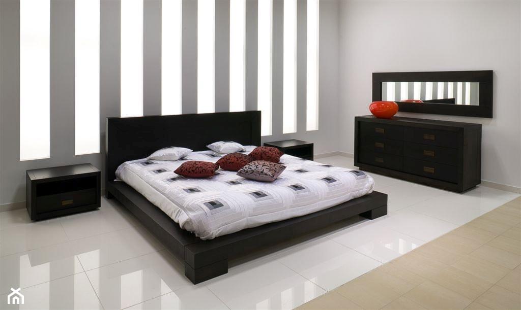 Farby KABE - sypialnia, styl nowoczesny