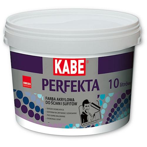 PERFEKTA – Farba akrylowa do ścian i sufitów