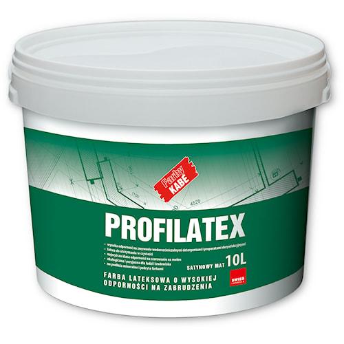 PROFILATEX – Farba lateksowa o wysokiej odporności na zabrudzenia