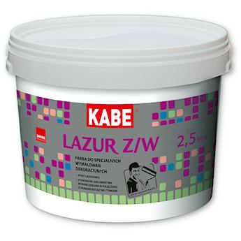 LAZUR Z/W – Farba lazurująca do wykonywania specjalnych efektów dekoracyjnych