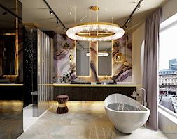 Delikatna łazienka - zdjęcie od Milchina Design - Homebook