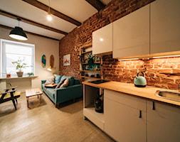 Mikro-loft na Księżym Młynie - Kuchnia, styl industrialny - zdjęcie od MRSatelier - Homebook