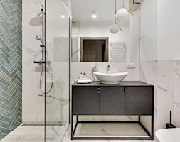 Apartament na wynajem - Gdańsk 2020 - realizacja - Łazienka, styl nowojorski - zdjęcie od PT8 INTERIOR DESIGN Magdalena Lech Biuro projektowania wnętrz - Homebook