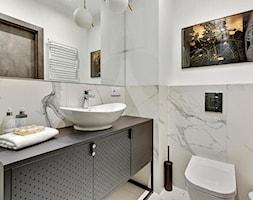 Apartament na wynajem - Gdańsk 2020 - realizacja - Łazienka, styl nowoczesny - zdjęcie od PT8 INTERIOR DESIGN Magdalena Lech Biuro projektowania wnętrz - Homebook