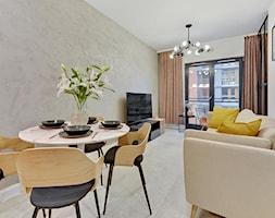 Apartament na wynajem - Gdańsk 2020 - realizacja - Salon, styl nowoczesny - zdjęcie od PT8 INTERIOR DESIGN Magdalena Lech Biuro projektowania wnętrz - Homebook