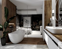Salon Kąpielowy - Łazienka, styl nowoczesny - zdjęcie od Galeria Wnętrz Accero - Homebook