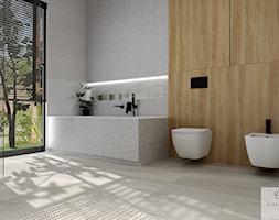 Prostu układ - Łazienka, styl nowoczesny - zdjęcie od Galeria Wnętrz Accero - Homebook