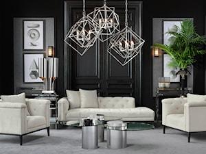 Luksusowy salon w klasycznym stylu