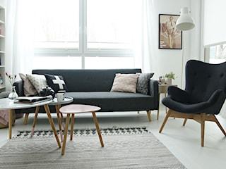 Jak urządzić salon w stylu skandynawskim? - uczy Mrs. Polka Dot