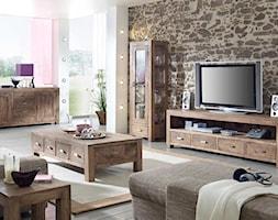 Średni szary salon, styl tradycyjny - zdjęcie od sfmeble.pl
