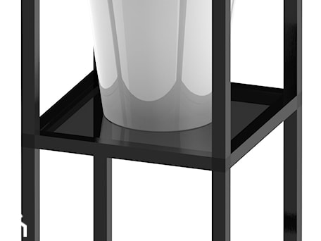 Aranżacje wnętrz - Ogród: Kwietnik 300x300x560 z półką szklaną hartowaną antisol grafit - Alus Sp z o o. Przeglądaj, dodawaj i zapisuj najlepsze zdjęcia, pomysły i inspiracje designerskie. W bazie mamy już prawie milion fotografii!