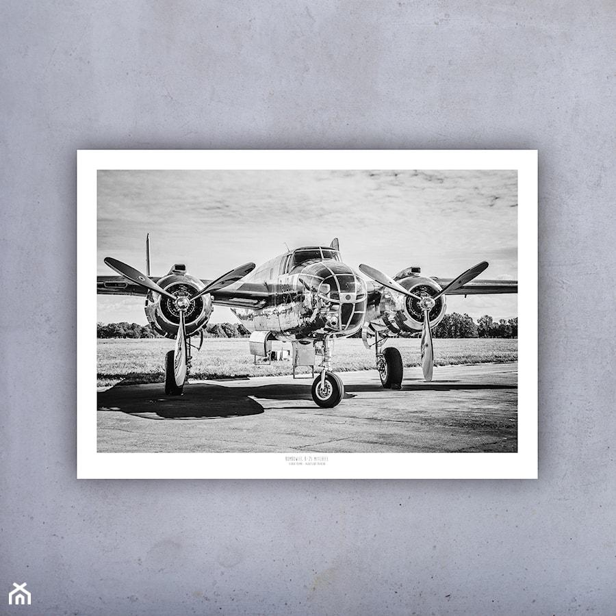 Plakat Samolot Bombowiec Mitchell 100x70 Cm Zdjęcie Od