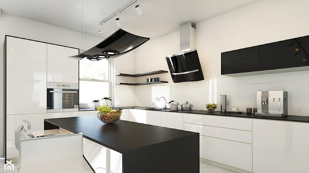 Pomysły na aranżację ściany nad blatem kuchennym  Homebook pl -> Kuchnia Jaki Okap