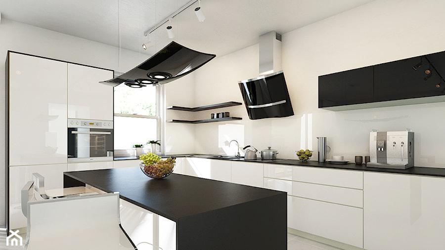 Kuchnia, styl nowoczesny  zdjęcie od Okapy kuchenne -> Biala Kuchnia Bialy Okap