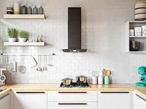 10 pomysłów na modną kuchnię z czarnym okapem kuchennym