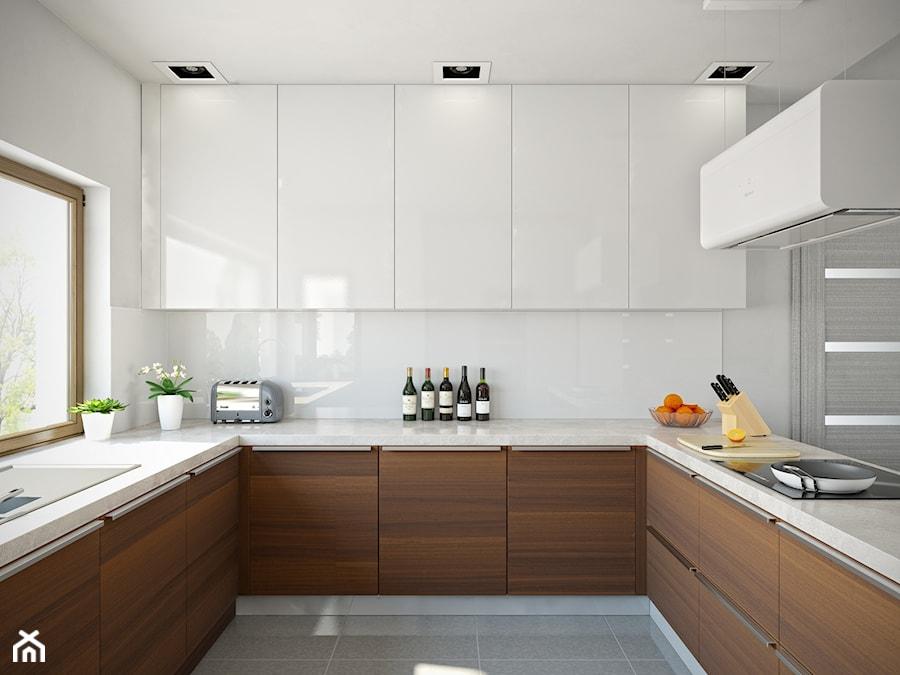 Kuchnia nowoczesna w stylu minimalistycznym  zdjęcie od