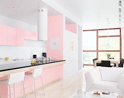 Różowa Kuchnia Aranżacje Pomysły Inspiracje Homebook