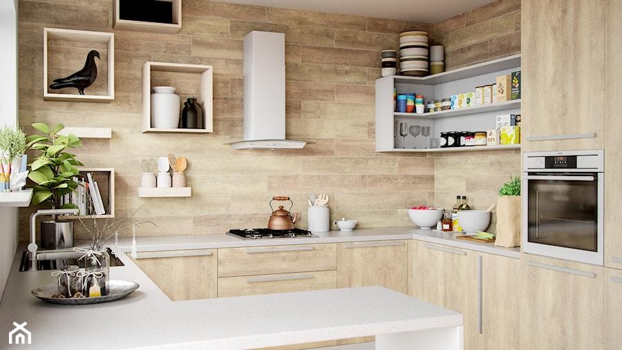 Klasyczna Kuchnia Z Drewnie Z Okapem Divida White Marki Globalo
