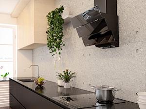 Beton architektoniczny w kuchni, czyli must have tego sezonu