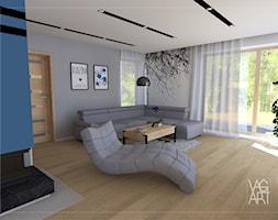 Salon - zdjęcie od Pracownia Architektury Wnętrz - VAGart.pl - Homebook