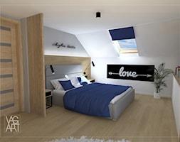 Sypialnia - zdjęcie od Pracownia Architektury Wnętrz - VAGart.pl - Homebook