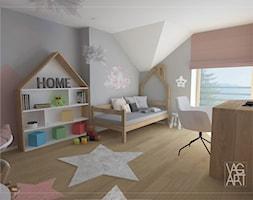 Pokój dziewczynki - zdjęcie od Pracownia Architektury Wnętrz - VAGart.pl - Homebook
