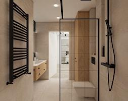 mieszkanie 43 m2 - Łazienka, styl industrialny - zdjęcie od a3projektowaniewnetrz - Homebook