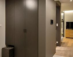 dom 154m2 - Hol / przedpokój, styl nowoczesny - zdjęcie od a3projektowaniewnetrz - Homebook