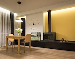 dom 154m2 - Jadalnia, styl nowoczesny - zdjęcie od a3projektowaniewnetrz - Homebook
